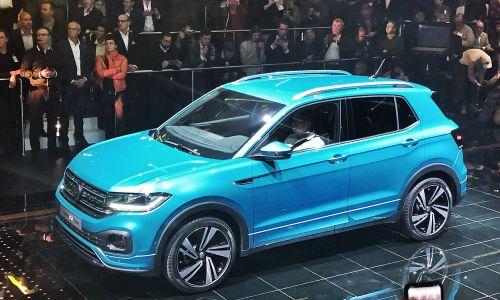 Prvi pogled: Volkswagen T-cross - svetovna premiera