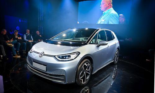 Volkswagen ID.3 prvič v Sloveniji