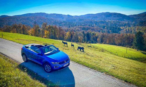 VW T-roc: križanec in kabriolet za vse letne čase?