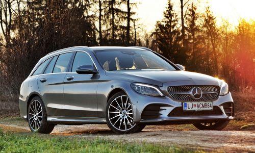 Kratek test: Mercedes C 200 T 4matic 9G-tronic