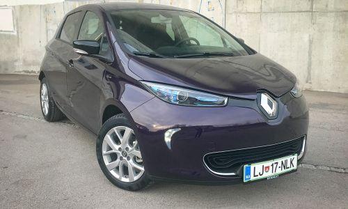 Kratek test: Renault zoe limited Z.E. R110 BL