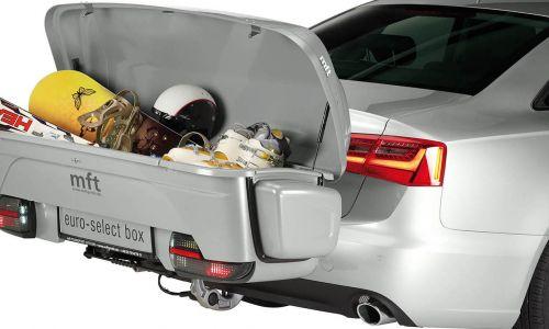 Prtljažni kovčki za namestitev na vlečno kljuko