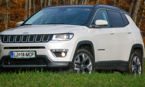 Test: Jeep compass 2,0 multijet AWD limited
