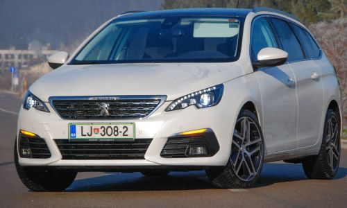 Kratek test: Peugeot 308 SW allure