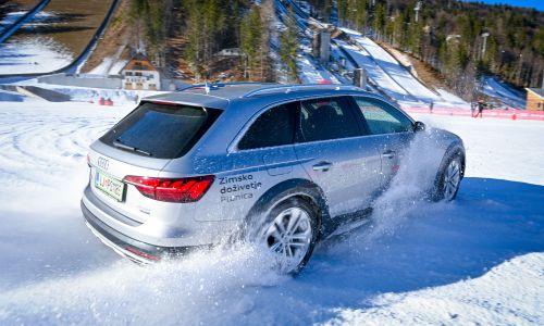 Audi quattro zimsko doživetje za člane AMZS