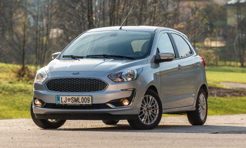 Kratek test: Ford ka+ 1.2 Ti-VCT trend