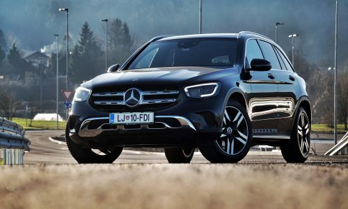 Kratek test: Mercedes GLC 300 d 4 matic off-road