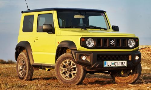 Test: Suzuki jimny 1.5 VVT allgrip pro elegance