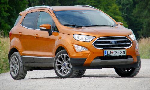 Test: Ford ecosport 1.0 ecoboost titanium