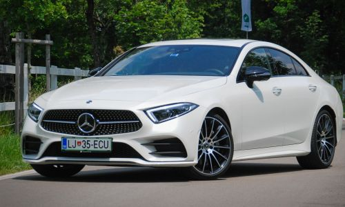 Test: Mercedes-benz CLS 350 d 4matic