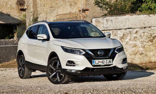 Kratek test: Nissan qashqai 1.6 dCi x-tronic tekna