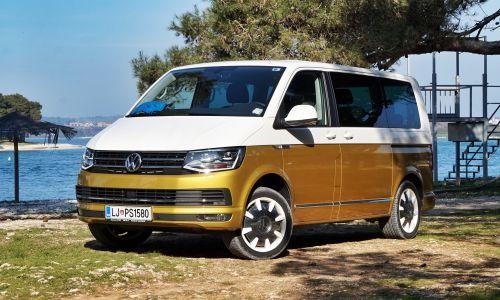 Kratek test: VW T6 multivan 2.0 TDI DSG comfortline 70 let bulli