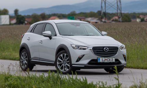 Kratek test: Mazda CX-3 G121 takumi