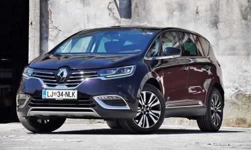 Kratek test: Renault espace 2.0 dCi aut. initiale Paris