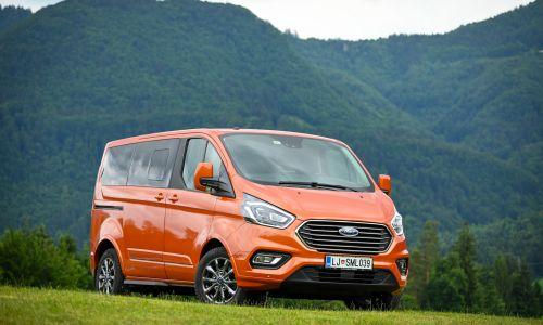 Kratek test: Ford tourneo custom 2.0 ecoblue mHEV titanium X
