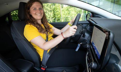 Najboljša mlada voznica: Nisem za dirke