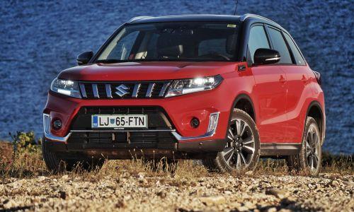 Kratek test: Suzuki vitara 1.4 boosterjet allgrip hybrid elegance