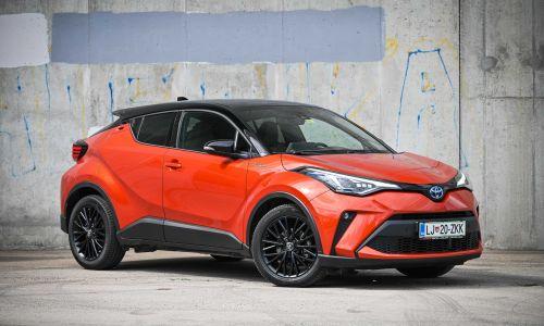 Kratek test: Toyota C-HR 2,0 hybrid