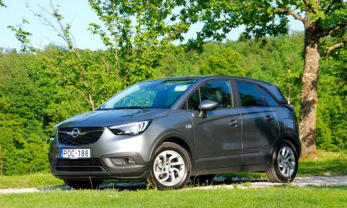 Kratek test: Opel crossland X 1.2 60kW enjoy