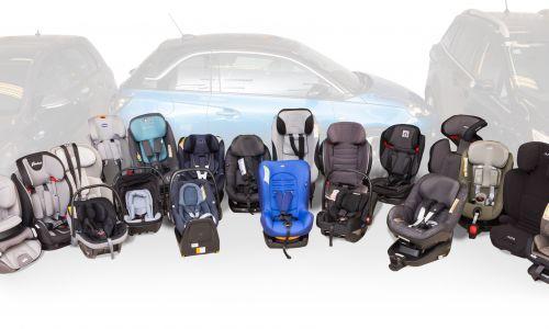 AMZS test 29 otroških varnostnih sedežev