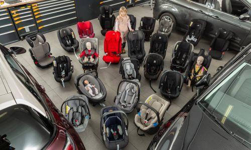 AMZS test 41 otroških varnostnih sedežev