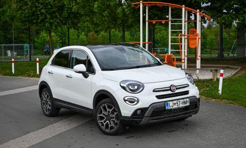 Kratek test: Fiat 500X 1,6 multijet 16V TCT cross
