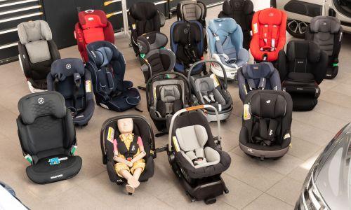 AMZS test 33 otroških varnostnih sedežev