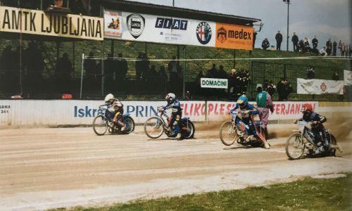 Zadnji krog speedwayistov na stezi v ljubljanski Zgornji Šiški