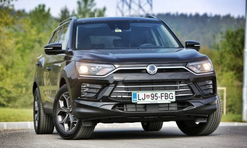 Test: Ssangyong korando 1.5 T-GDI exclusive