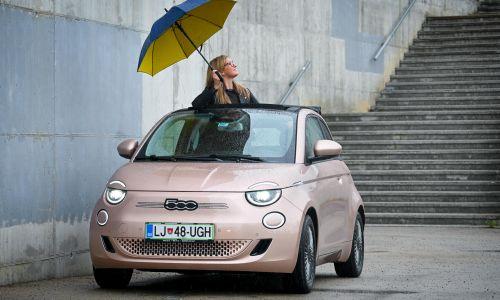 Doživetje: Fiat 500e