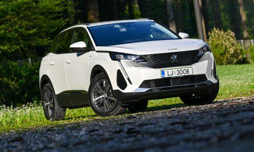 Test: Peugeot 3008 hybrid allure pack 1,6 THP