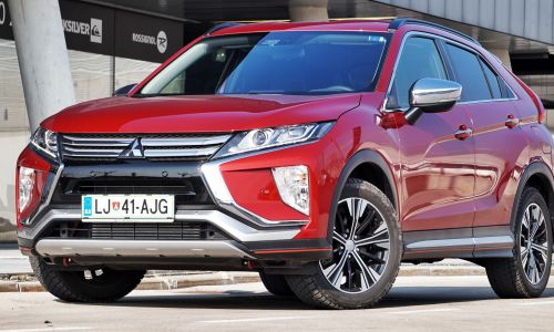 Test: Mitsubishi eclipse cross 1.5 turbo intense