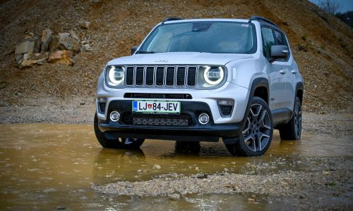 Kratek test: Jeep renegade 2,0 multijet 140 AWD aut.