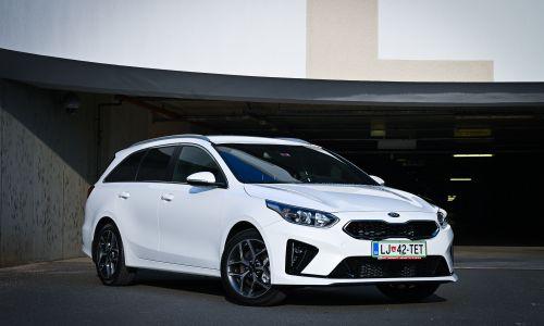 Kratek test: Kia ceed sw 1,6 CRDi DCT GT-line