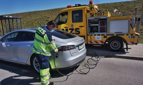 AMZS pomoč na cesti za električna vozila