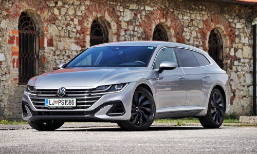 Test: Volkswagen arteon shooting brake 2.0 TDI 4 motion R-line
