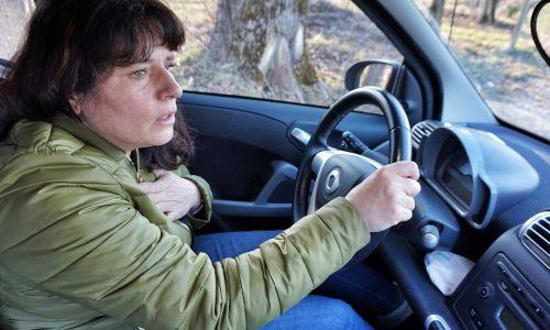 Zdravje: Tesnoba za volanom