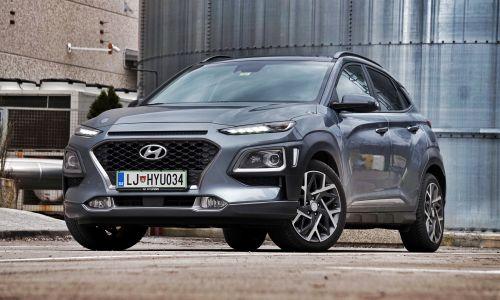 Kratek test: Hyundai kona 1.6 GDi HEV impression