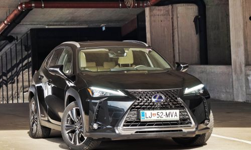 Test: Lexus UX 250h AWD luxury