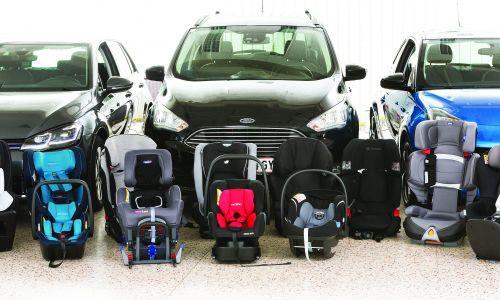 AMZS test 19 otroških varnostnih sedežev