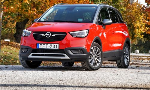 Test: Opel crossland X 1.2 turbo