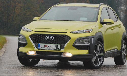 Hyundai kona - (Pre)drzna podoba z veliko vsebine