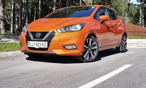 Test: Nissan micra 0,9 I-GT tekna
