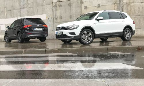Volkswagen tiguan allspace - Večji nahrbtnik ali 7 sedežev
