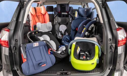AMZS test 20 otroških varnostnih sedežev