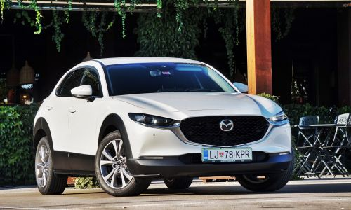 Test: Mazda CX-30 D116 AT plus
