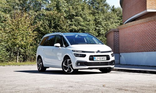 Kratek test: Citroen C4 spacetourer blueHDi 160 shine