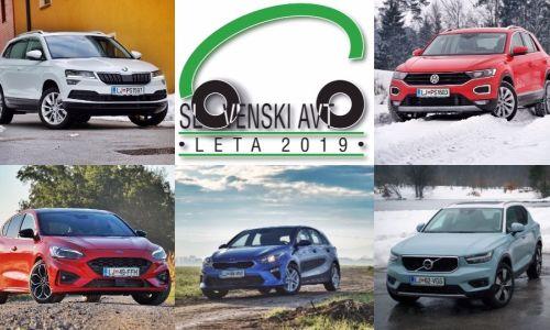 Slovenski avto leta 2019: nemško-švedsko-korejski finale