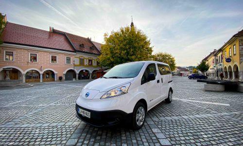 Test: Nissan e-NV 200 combi 7