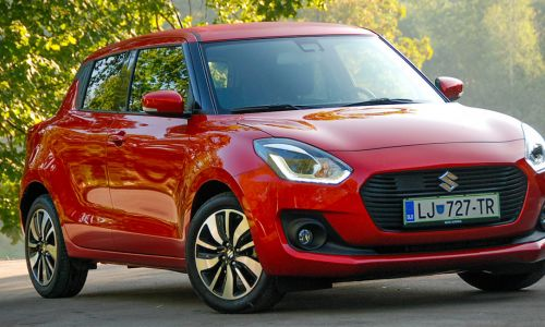 Test: Suzuki swift 1.0 booster SHVS elegance